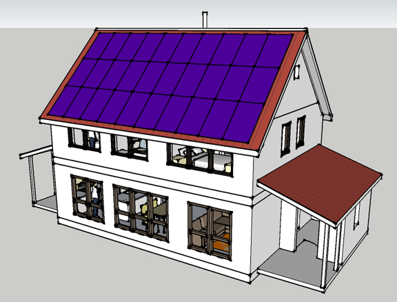 Passive Solar Super Insulated Home Plans Home Plan