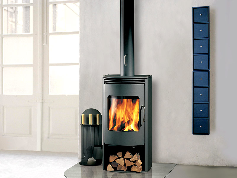 Wood Stoves Up Hill House