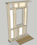 Window box frame