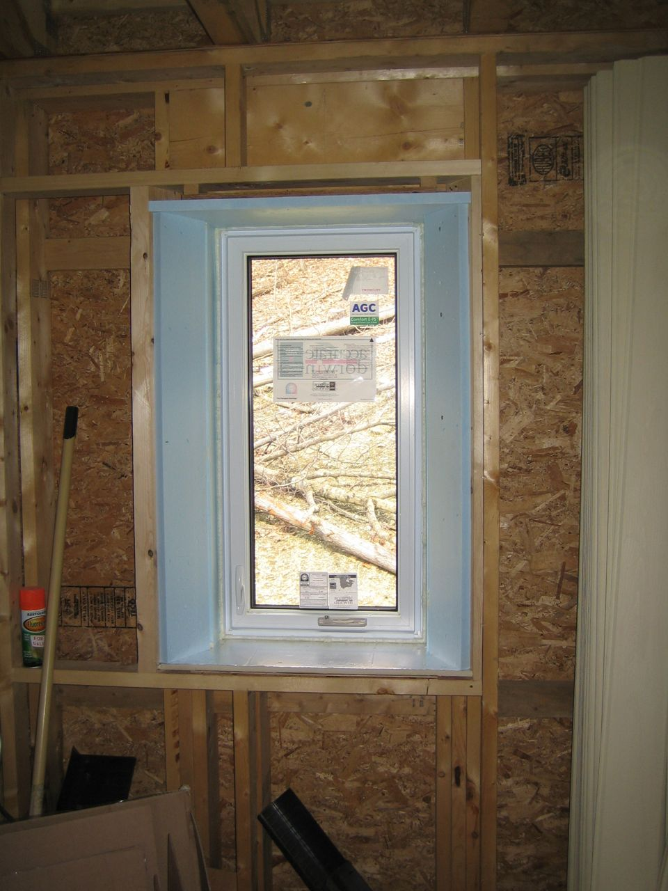 Window Framing And Insulating Detail