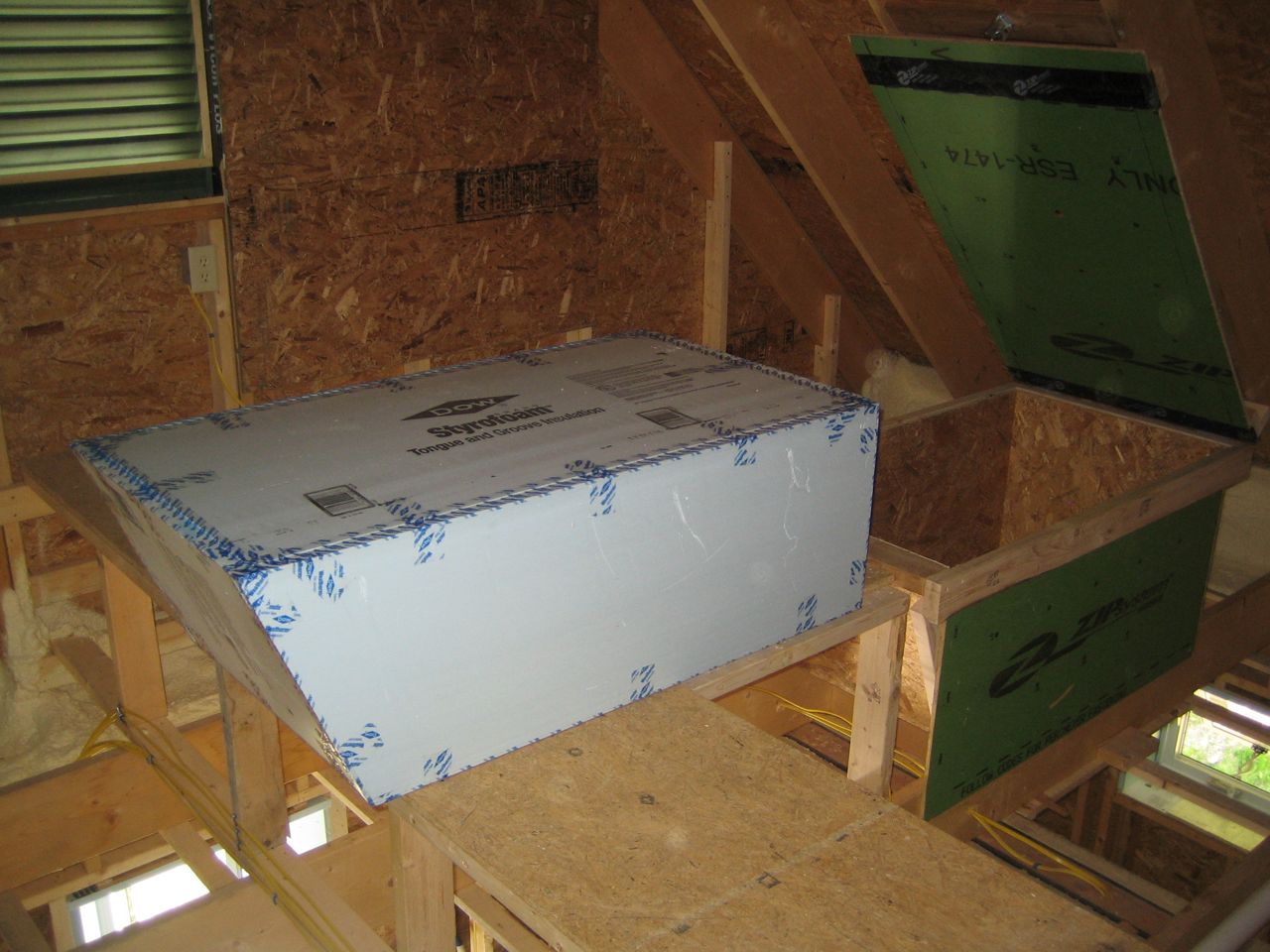Attic Access Detail, The U0027corku0027