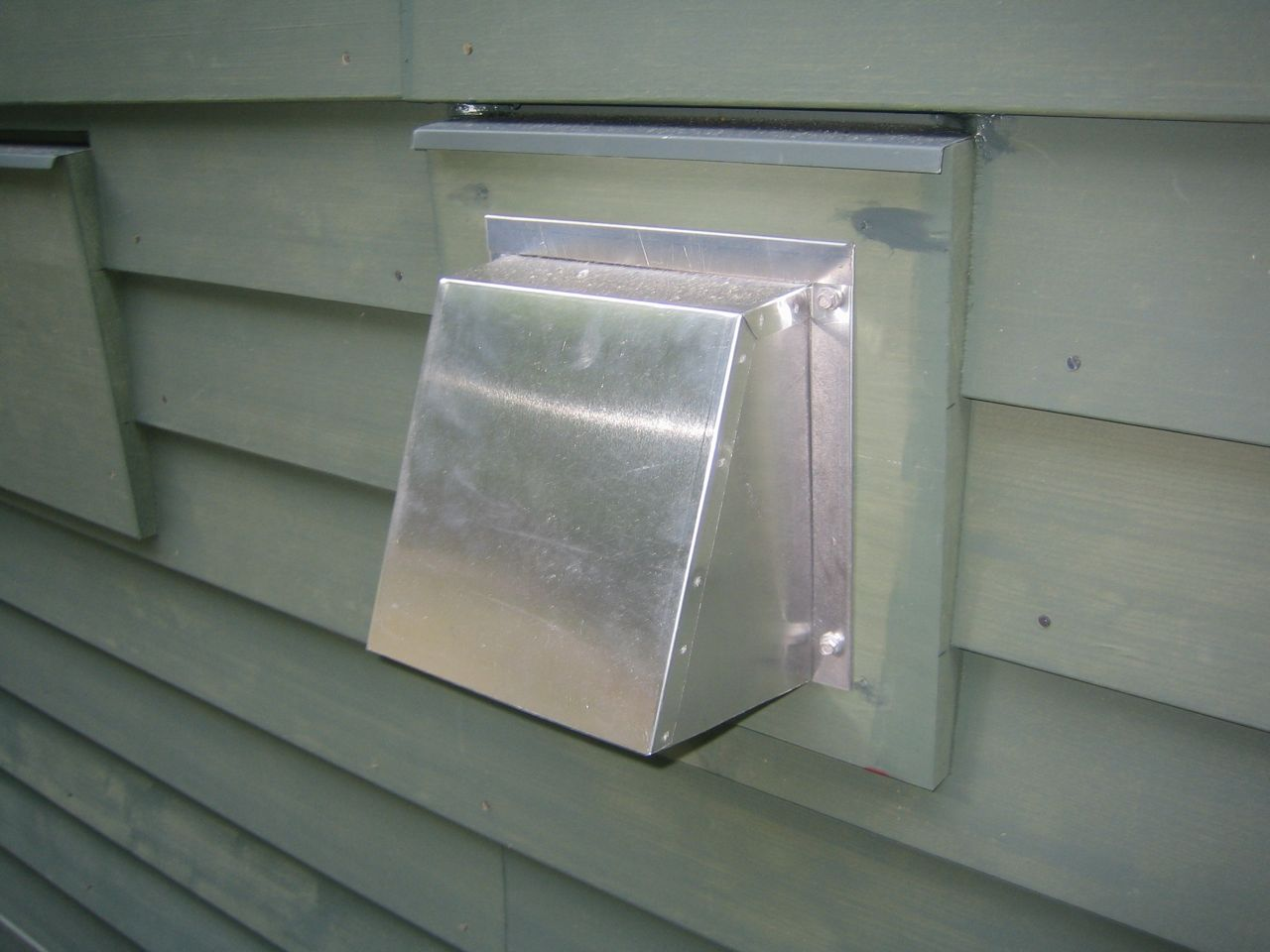 1280 Exterior Fresh Air Intake 4 Feet Above Ground Level Fresh Air Intake  #70665B 960