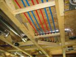 Ceiling routing