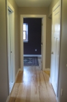 upstairs hall, looking towards guest bedroom
