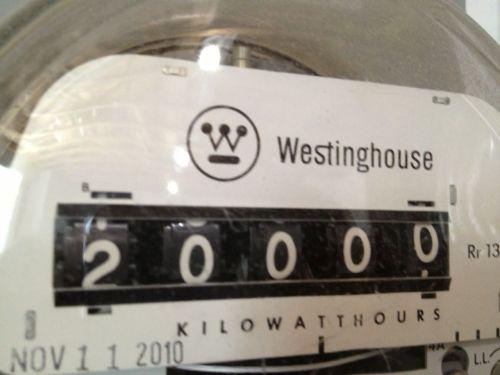 20,000 kWh meter pic